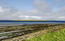strandöar orkney Royaltyfria Foton