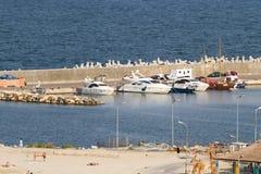 Strandöverblick Arkivbild