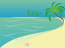 Strand lizenzfreie abbildung