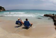 Strand 033 Arkivfoton