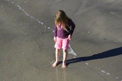 Am Strand Stockbilder
