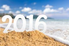 Strand 2016 Stockbilder