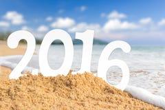 Strand 2016 Stockfotografie