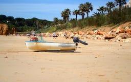 Am Strand lizenzfreie stockfotos