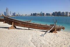 Strand in Abu Dhabi Lizenzfreie Stockfotografie