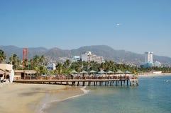 Strand in Acapulco, Mexiko Lizenzfreie Stockbilder