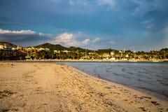Strand in Alcudia Mallorca royalty-vrije stock fotografie