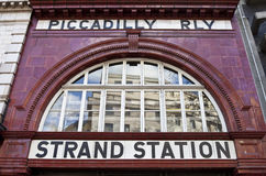 Strand / Aldwych Station Stock Photo