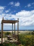 strand in Alentejo, Portugal Stock Afbeelding