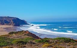 Strand in algarve, Portugal Stock Foto