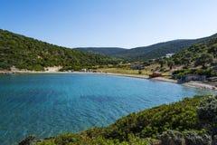 Strand, Alonissos, Griechenland lizenzfreies stockbild