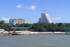 Strand in Anapa Stock Foto