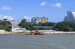Strand in Anapa Stock Foto's