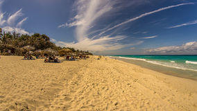 Strand Ancon in Trinidad, Kuba lizenzfreies stockfoto