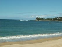 Strand in Anglet, Frankreich stockbild