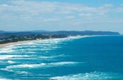 Strand-Ansicht Stockfotos