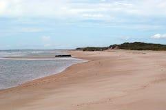 Strand-Ansicht lizenzfreies stockbild