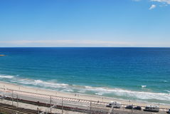 Strand-Ansicht Tarragona Stockfotos