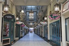 Strand Arcade Auckland New Zealand royalty free stock image