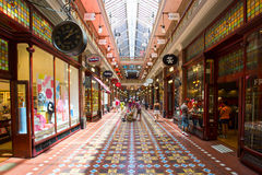 The Strand Arcade Royalty Free Stock Images