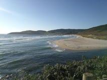 Strand auf dem Berg lizenzfreie stockfotos