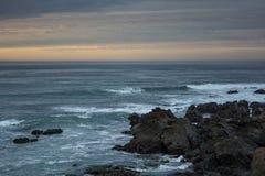 Strand auf dem Ozean Lizenzfreie Stockbilder