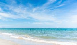 Strand auf dem Sommer Stockfotografie