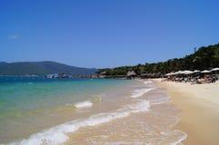 Strand auf der Insel Stockfoto