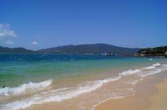 Strand auf der Insel Stockbild