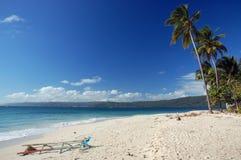 Strand auf der Insel Lizenzfreies Stockbild