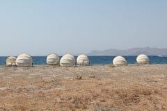 Strand auf der Insel von Kos Stockbild