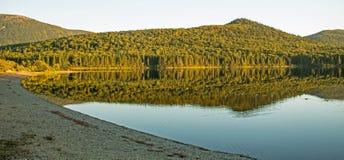 Strand auf großem Nictau am Berg Carleton Provincial Park lizenzfreies stockbild