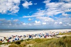Strand auf Juist Stockfotografie