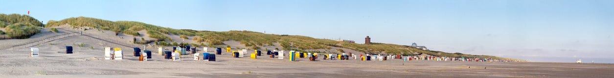 Strand auf Juist Lizenzfreie Stockbilder