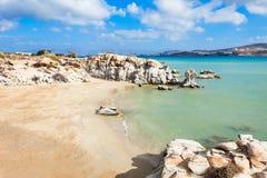 Strand auf Paros-Insel lizenzfreie stockbilder