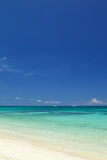 Strand auf Sommer Lizenzfreies Stockfoto