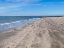 Strand auf Sullivans Insel, South Carolina stockbild