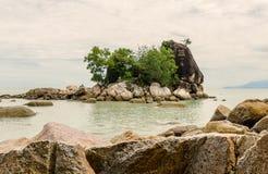 "Strand av Batu Ferringhi †""Penang, Malaysia arkivbild"