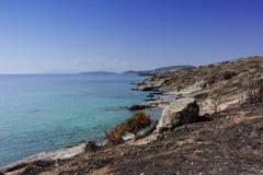 Strand av Bodrum Arkivfoton