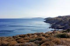 Strand av Bodrum Arkivfoto