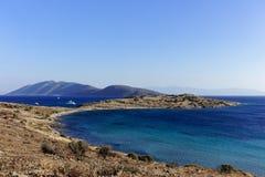Strand av Bodrum Arkivbilder