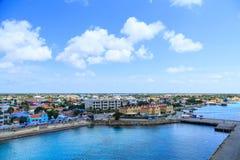 Strand av Bonaire Arkivfoton