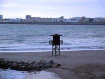 Strand av Cadiz Fotografering för Bildbyråer