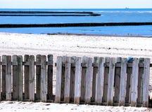 Strand av Chipiona i Cadiz Royaltyfri Bild