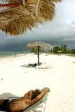 Strand av cuba Royaltyfri Fotografi