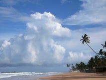 Strand av den blåa lagun Fotografering för Bildbyråer