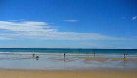 Strand av den storslagna havvägen i Australien Arkivbild