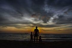 Strand av förälskelse Royaltyfri Bild