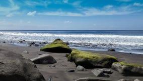 Strand av Igueste de San Andrés i Tenerife royaltyfria bilder