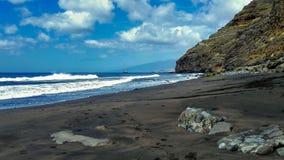 Strand av Igueste de San Andrés i Tenerife royaltyfria foton